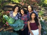 Aunty Uma with the twins