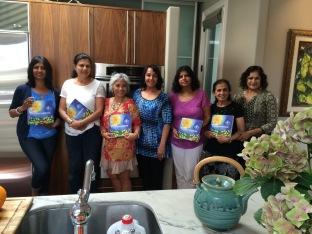 Shalini, Basanthi, Uma Aunty, Padmini & Devi