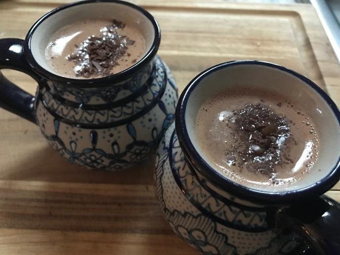 Decadent Dark Chocolate Hot Chocolate