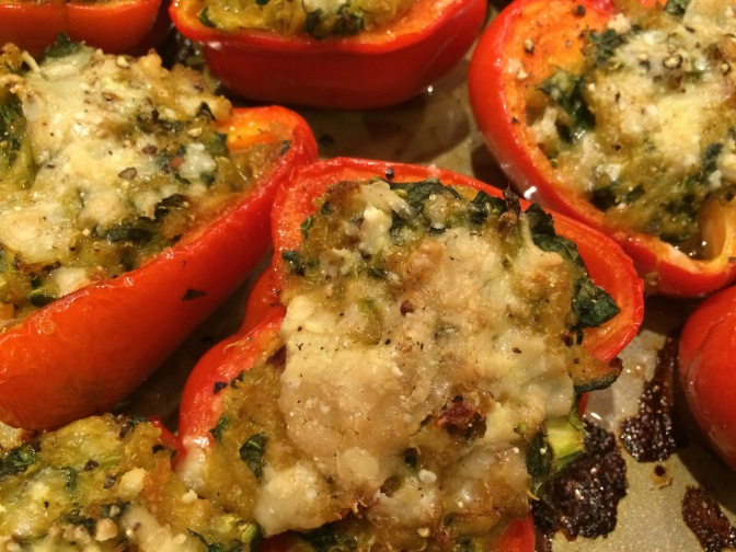 Stuffed Peppers with Indian Spiced Quinoa