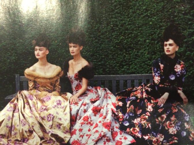 Floral Gowns by Oscar de la Renta
