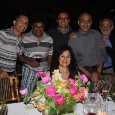 With Mahesh, Nando, Hitesh, Jaidev & Dad
