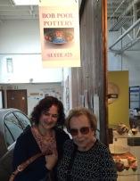 Jo and I at Bob Pool's Studio