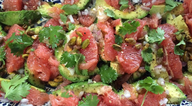 Avocado & Grapefruit Salad