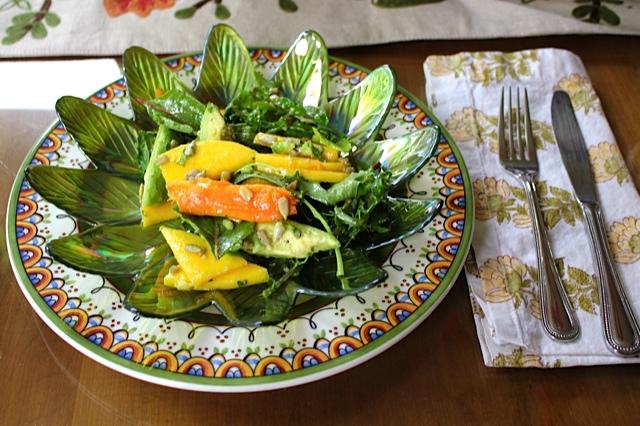 Mango, Papaya and Avocado Salad