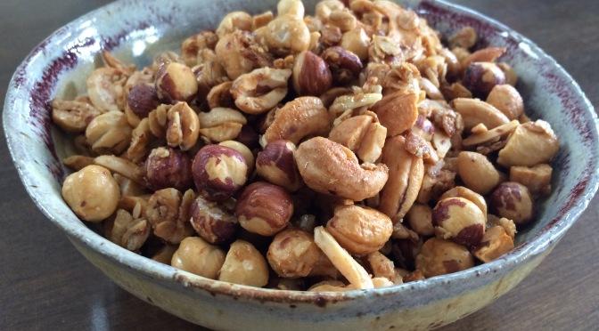 Roasted Hazelnuts & Cashew Granola