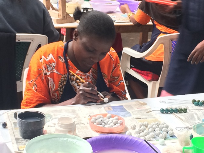 Visit to the Kazuri Bead Factory in Nairobi, Kenya