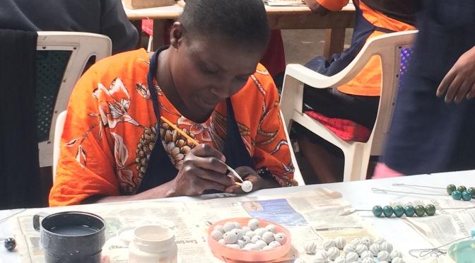 Visit to the Kazuri Bead Factory in Nairobi, Kenya