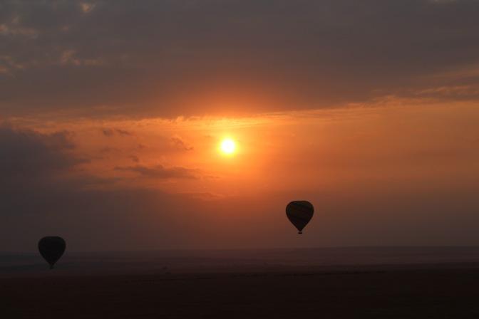 Balloon Safari over Masai Mara, Kenya