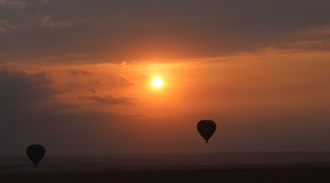 Balloon Safari over Masai Mara, Kenya