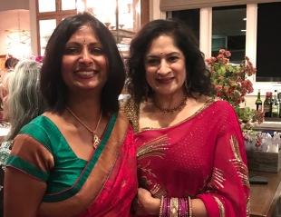 Shalini and I