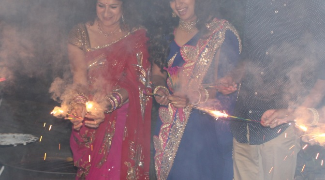 Celebrating Diwali with Family & Friends