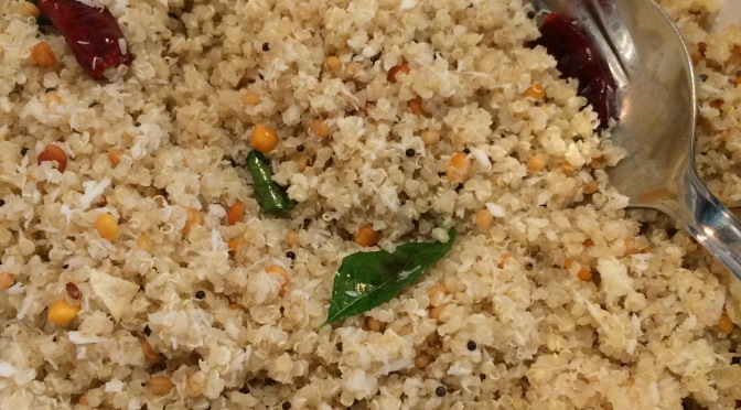 Uma's Spiced Coconut Quinoa
