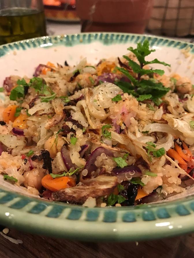 Roasted Fennel & Chickpea Salad