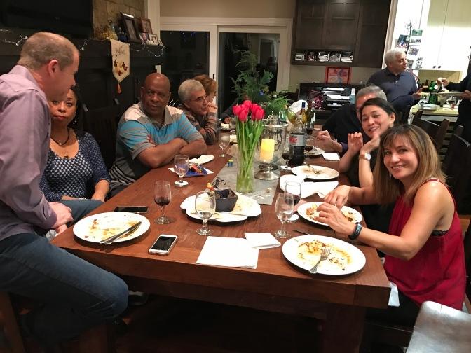 Celebrating Hanukkah with Friends