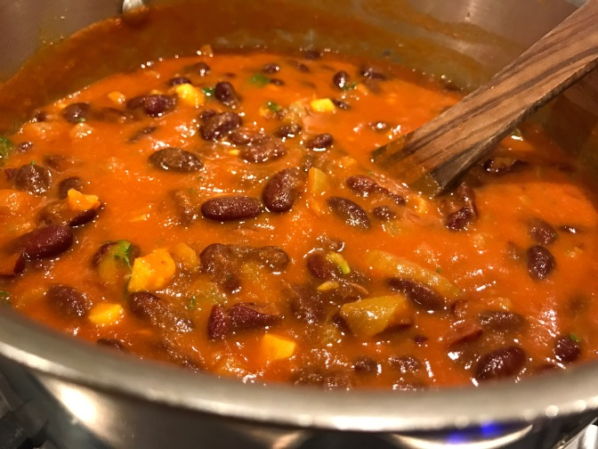 Rajma. North Indian Spiced Kidney Beans