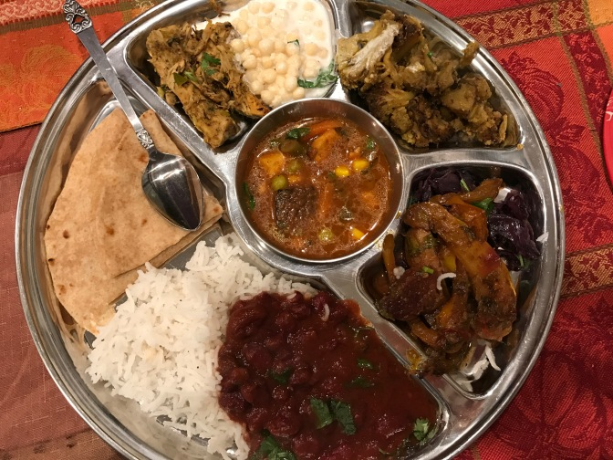 A North Indian Vegetarian Feast at Pallavi & Parag's