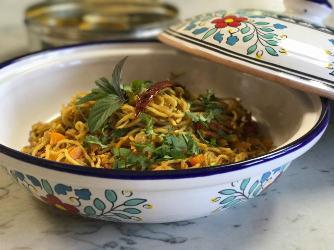 Indian Spiced Noodles