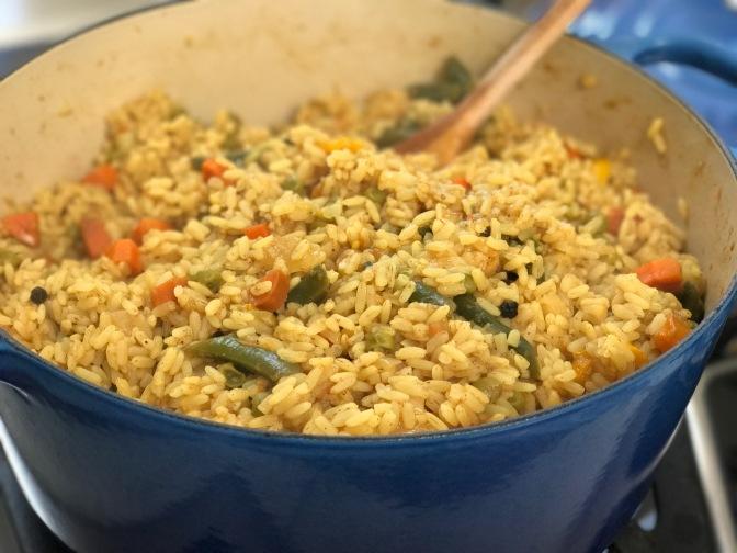 Geetha Masi's Vegetable Biryani
