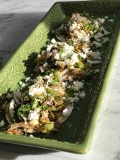 tacos verduras