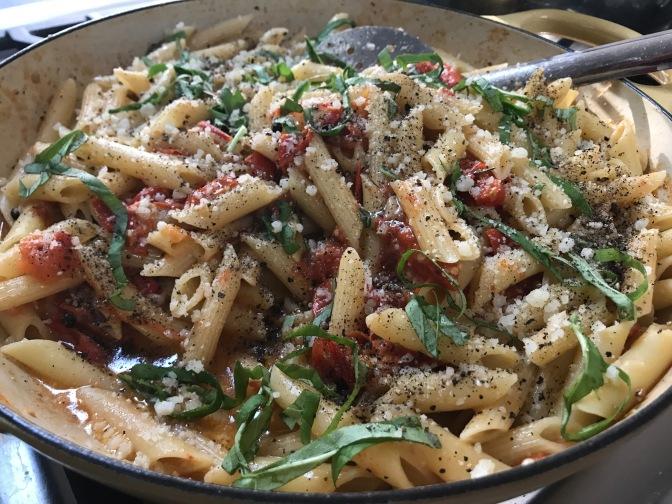 Federica Cucinelli's Rigatoni with Tomato and Basil