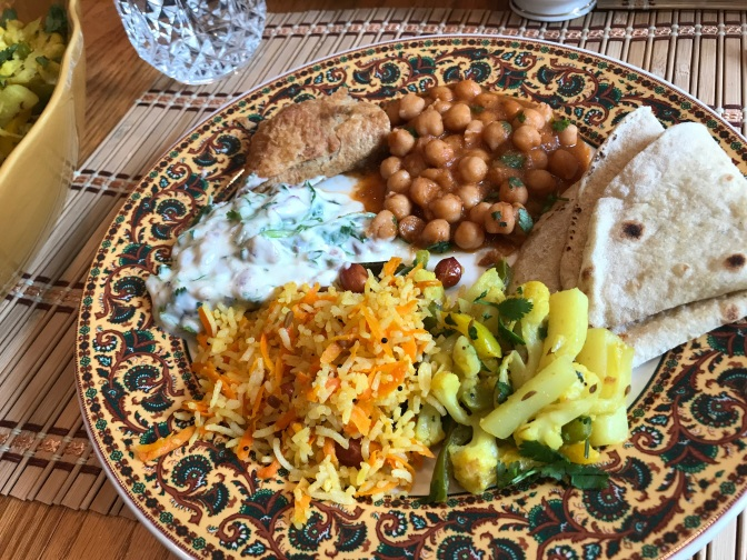 A Flavorful Vegetarian Lunch at Devi & Del's
