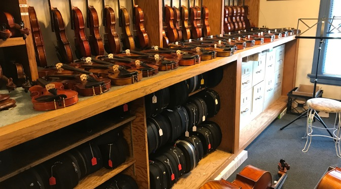 A Visit To A Music Store – Kamimoto Strings in San Jose, California