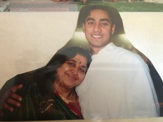 Thanga Mamo with my brother Kiran