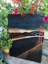 Golden Gate Bridge. Acrylic on Canvas