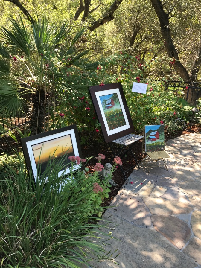Art in the Garden by Sridevi Sheth