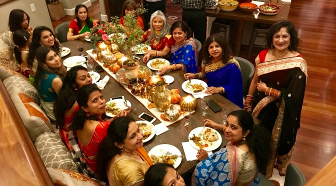 Celebrating Diwali with Family and Friends 2017