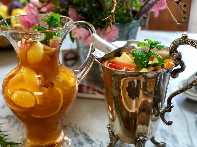 Cinnamon Spice Apple Orange Sangria