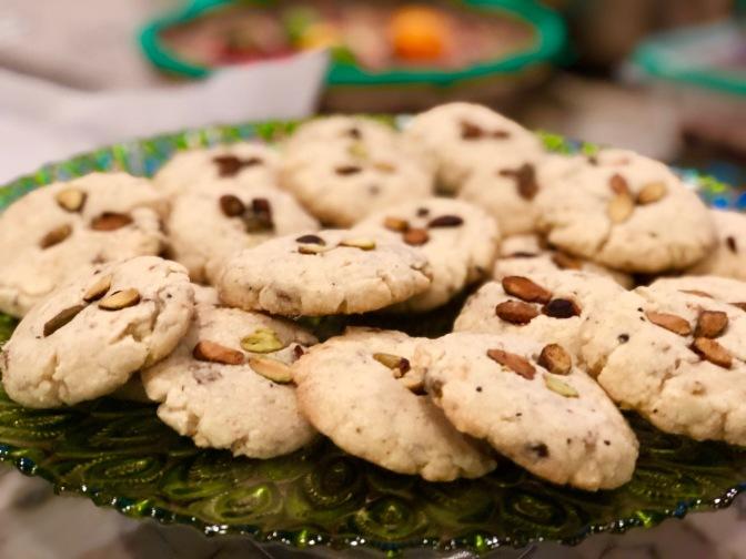 Pistachio Cardamom Cookies