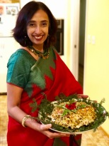 Coousin in matching sari 😀