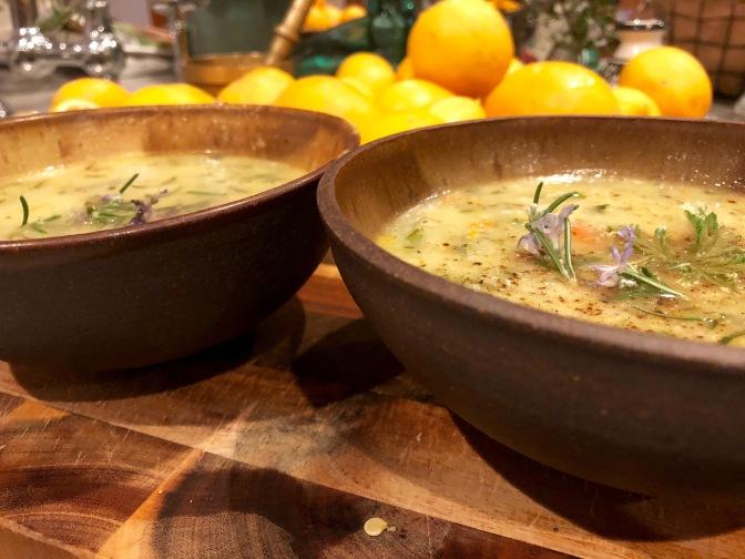 Zucchini Lemon Soup
