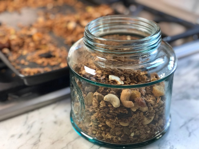 Cardamom Cashew Pistachio Granola