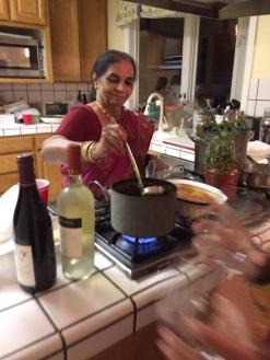 Radhika's Mom
