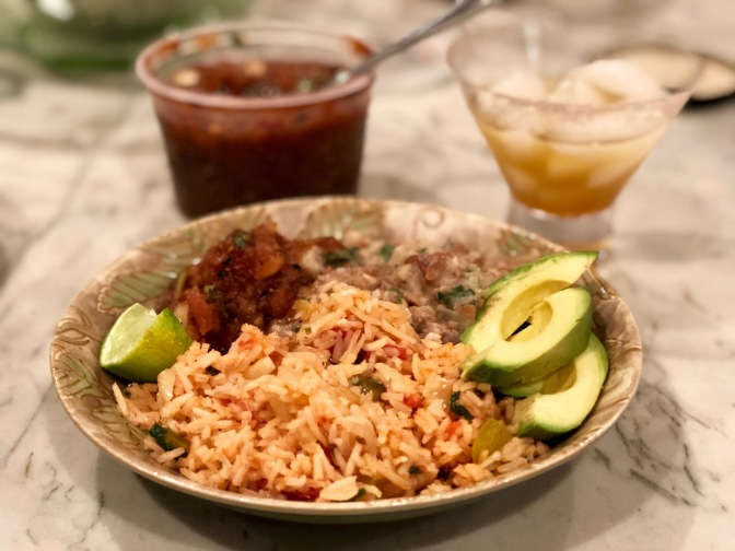 Mexican Rice and Beans. A Menu Worth Replicating