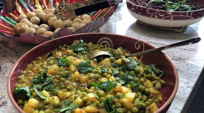 Potato Pea Curry