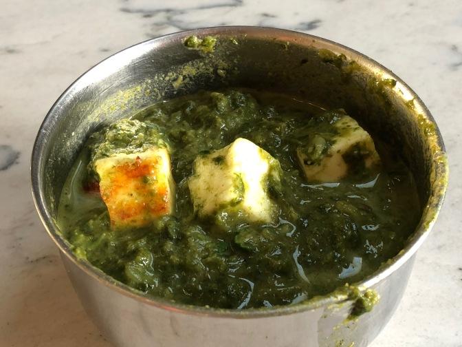 Sarson Ki Saag. Mustard Greens Curry