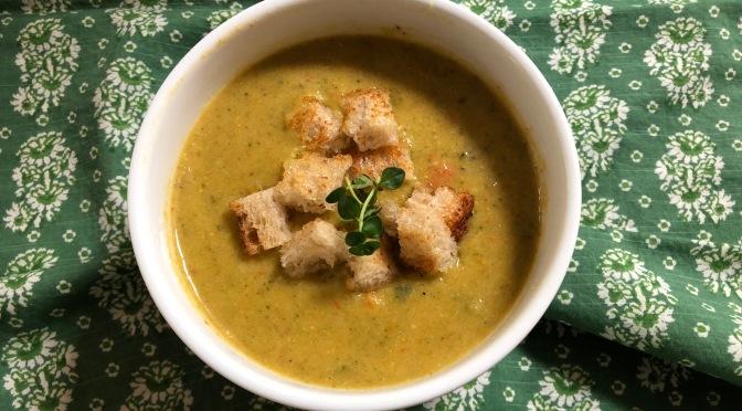 Creamy Broccoli Vegetable Soup