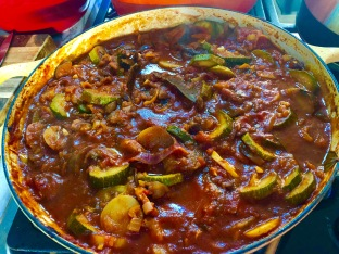 Ratatouille as a stew
