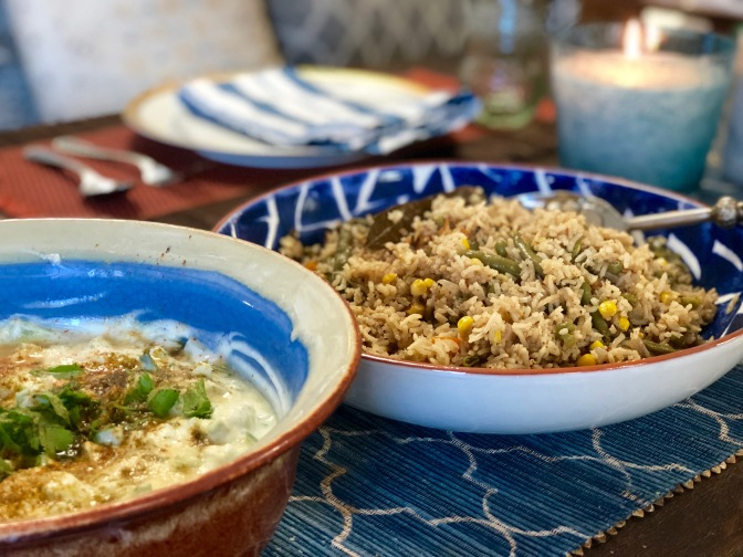 Mixed Vegetable Pilau