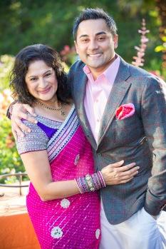 My brother Kiran at my 50th b'day