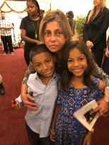 Shashi Aunty with Tara's kids