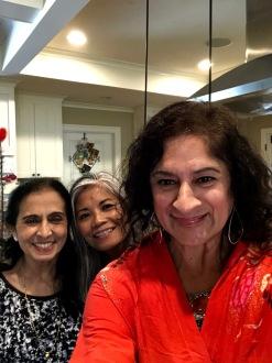 Devi, Rose and I