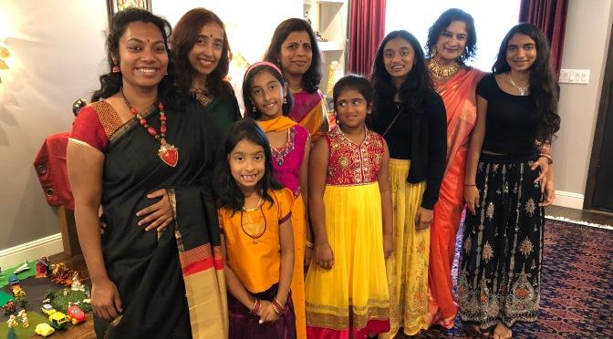 Celebrating the Power of She In the Festival of Navratri.  2018