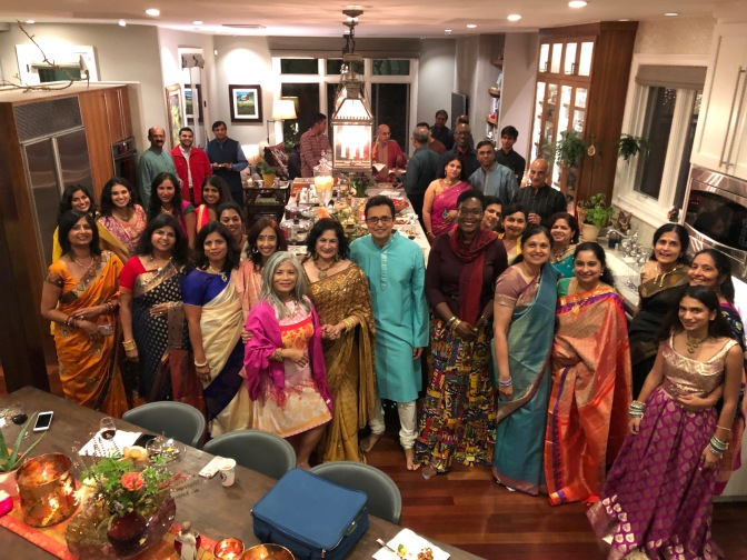 Celebrating The Festival of Lights with Family and Friends. Diwali 2018