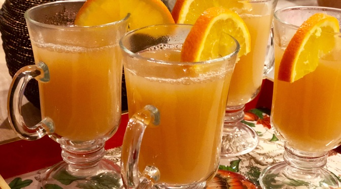 Warm Apple Ginger Cider