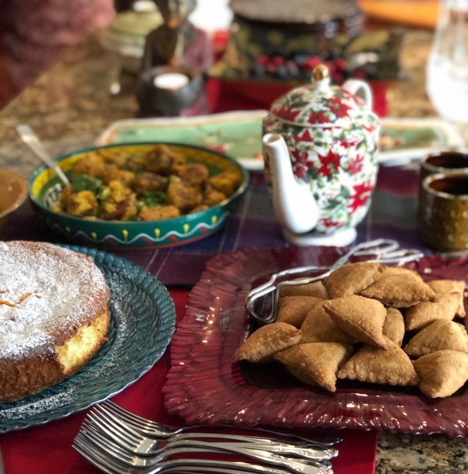 Holiday Tea at Devi's